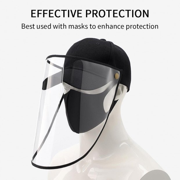 Outdoor Protection Hat Anti-Fog Pollution Dust Saliva Protective Image 3