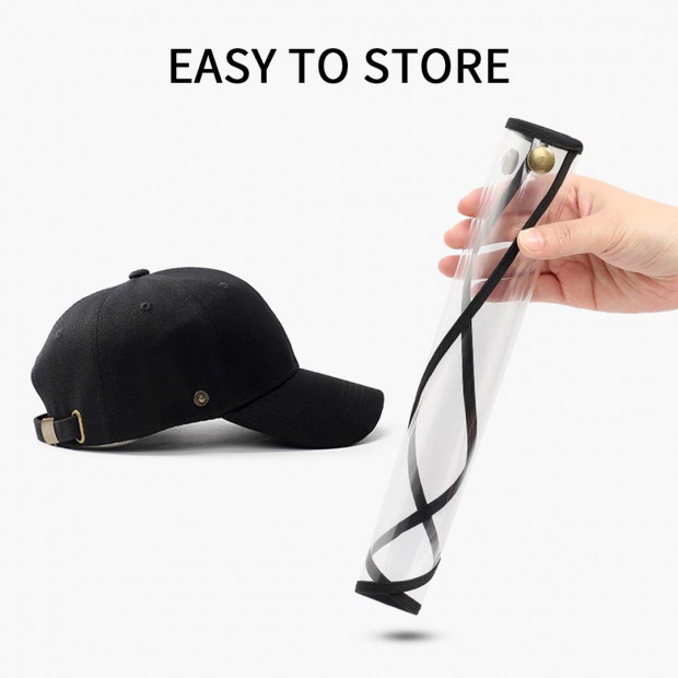2X Outdoor Protection Hat Anti-Fog Pollution Dust Saliva Protective Image 4
