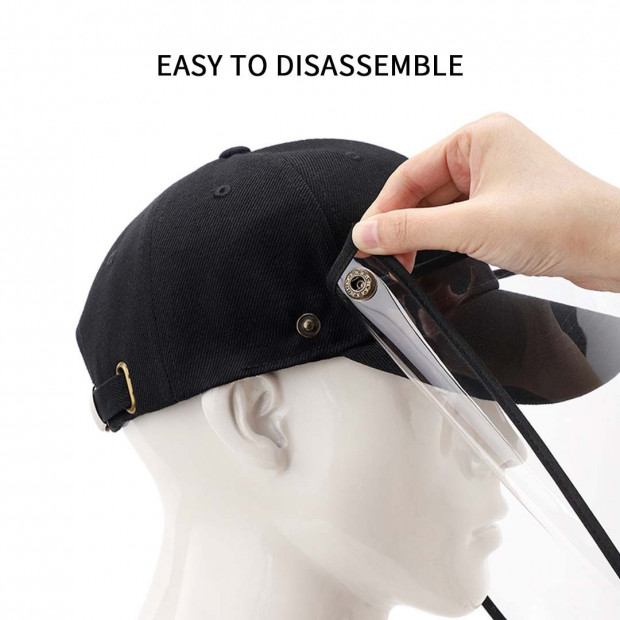 Outdoor Protection Hat Anti-Fog Pollution Dust Saliva Protective Image 6