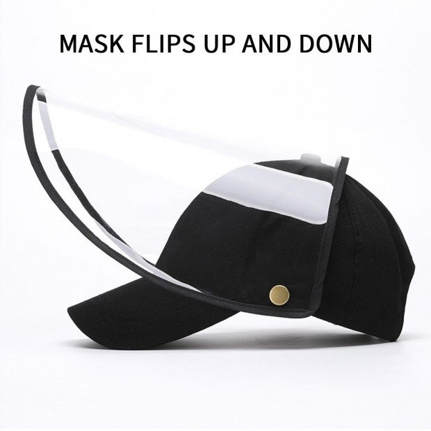 Outdoor Protection Hat Anti-Fog Pollution Dust Saliva Protective Image 7