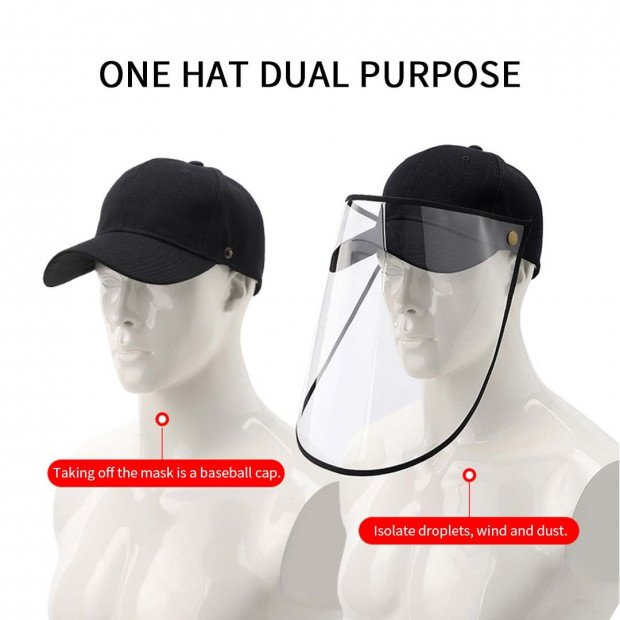 2X Outdoor Protection Hat Anti-Fog Pollution Dust Saliva Protective Image 8