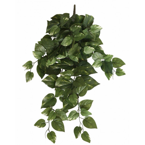 Artificial Philodendron Garland Hanging Bush - 73cm