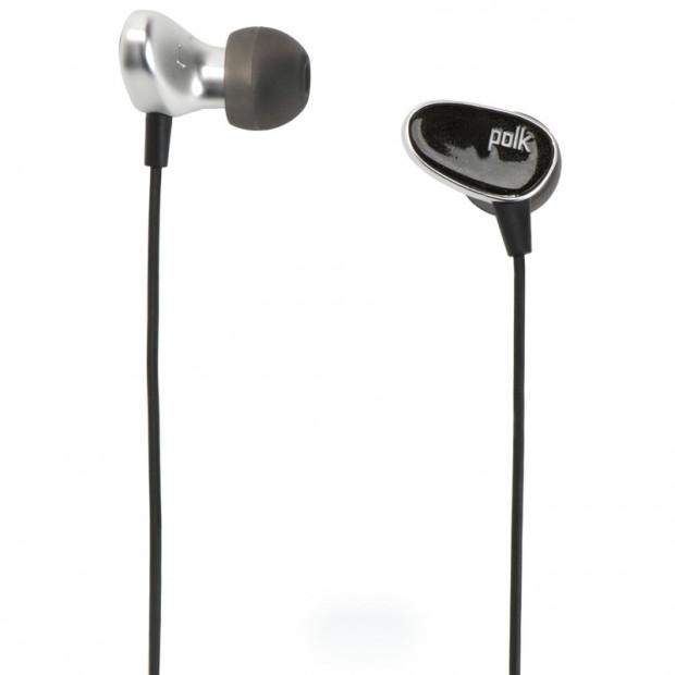 POLK Nue Era In-Ear Headphones - Black