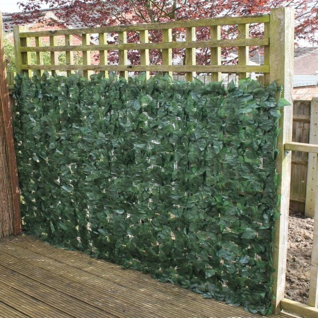 Artificial Ivy Leaf Hedging Screen 3m x 1m Roll