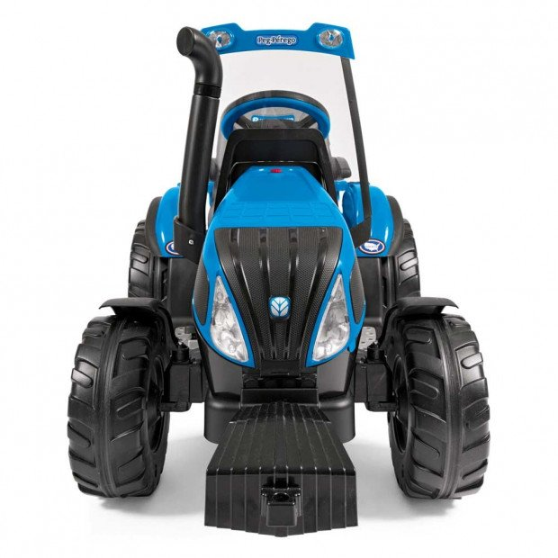Holland T8 Battery Operated Ride On 12 Volt with Trailer Image 1