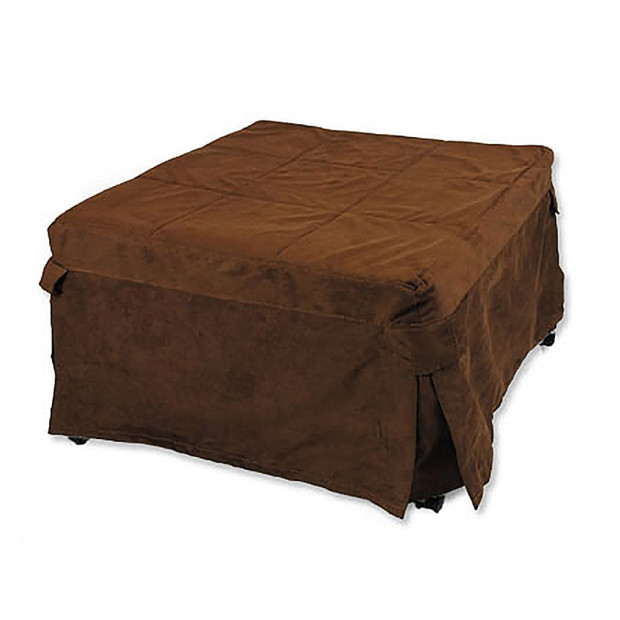 Ottoman Folding Bed - Brown