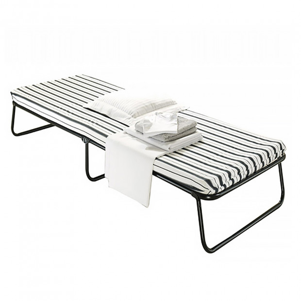 Single Size Portable Deluxe Folding Camping Bed