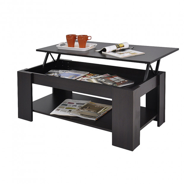 Lift Top Coffee Table - Brown