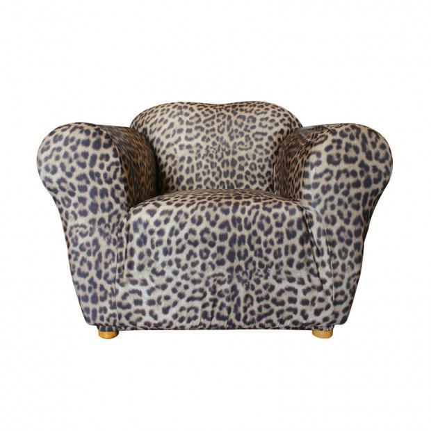 Sure Fit Armchair Pearson Sofa Cover - Leopard