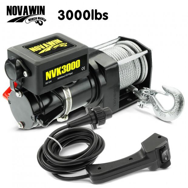 Novawin Electric Winch - 3000lbs