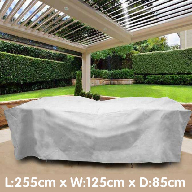 Outdoor Dining Table Furniture Cover 255 X 125