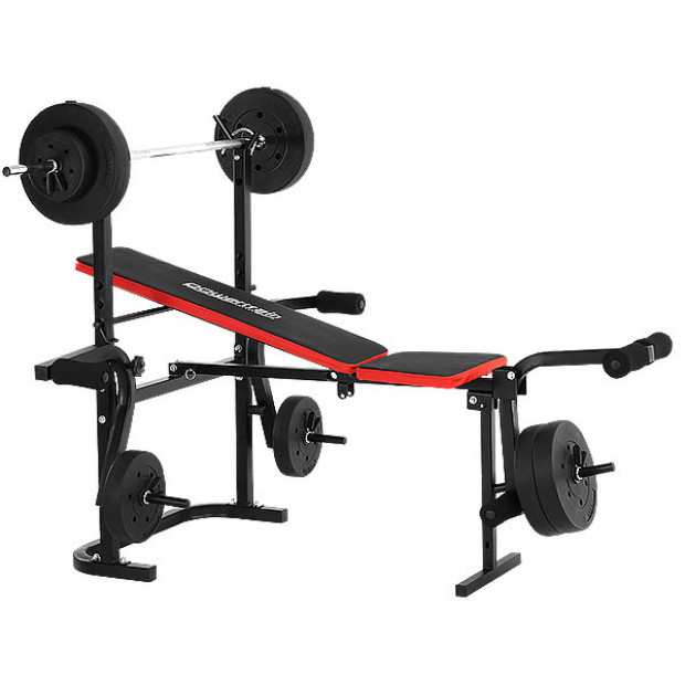 Powertrain Home Gym bench press multi gym with weights