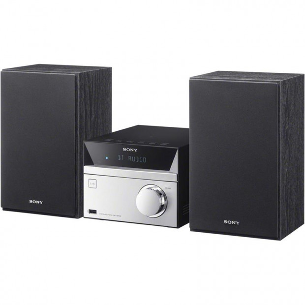 Sony CMTSBT20B 3-Box Micro Hifi With DAB+