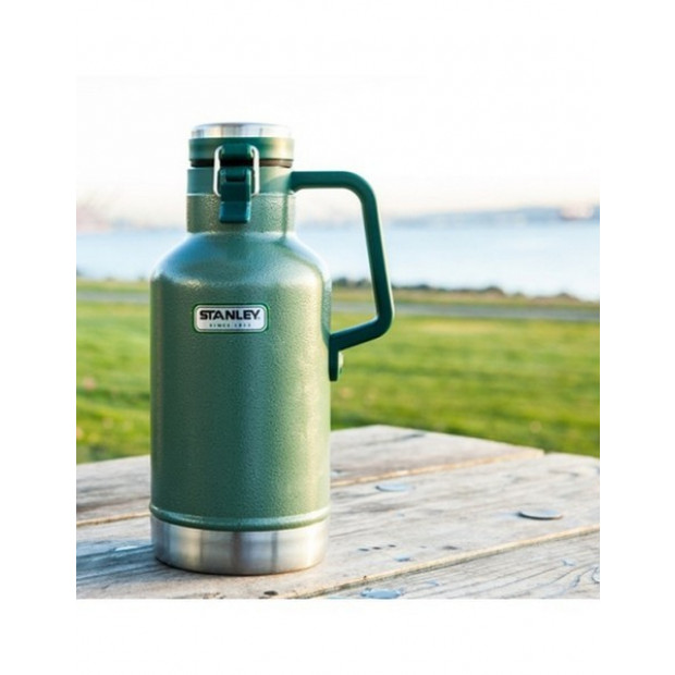 Stanley Classic Green Vacuum Flask Insulated Thermos Growler 1.9L