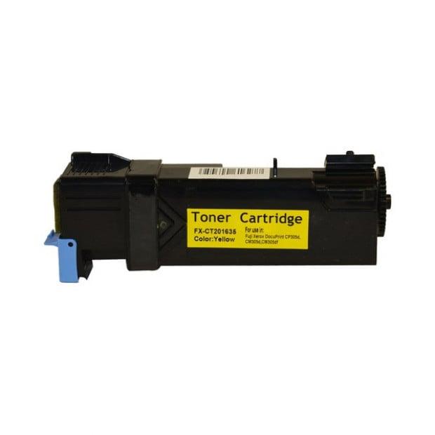 Suit Xerox. CT201635 CP305 Yellow Generic Toner Cartridge