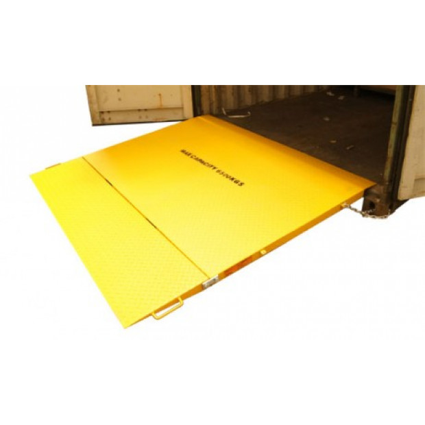 6500kg Cargo shipping container loading ramp