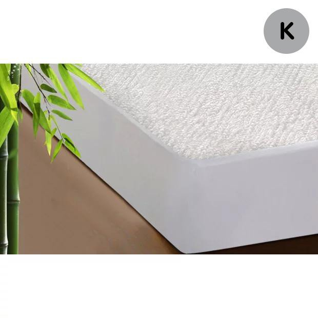 Mattress Protector Waterproof Fully Fitted Bamboo Fibre Cover King