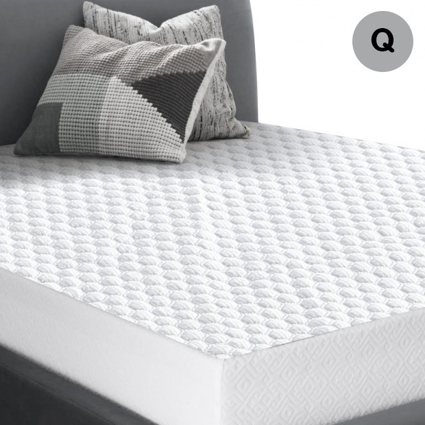 Dreamz Waterproof Fully Fitted Cooling Mattress Protector