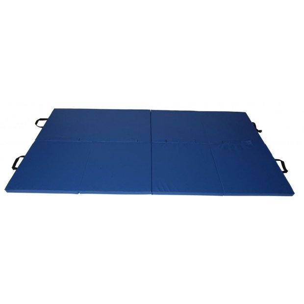 Yoga Fold Exercise Mat Blue