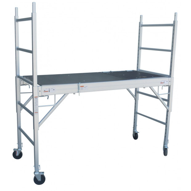 Professional Aluminium Safety Scaffold With Hatch Image 1
