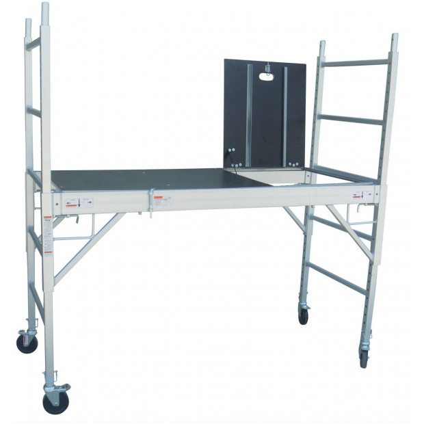 Professional Aluminium Safety Scaffold With Hatch Image 2