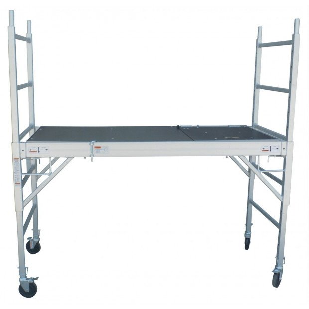 Professional Aluminium Safety Scaffold With Hatch Image 3