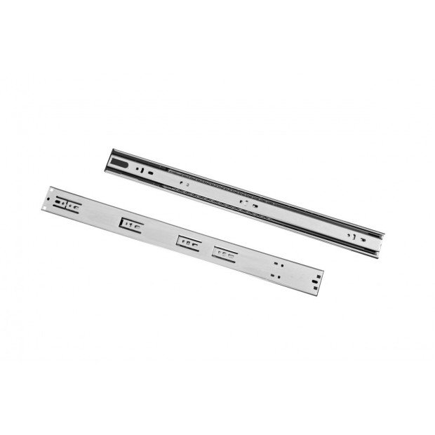 10 Pairs Of 500mm Soft Close Full Extension Ball Bearing Drawer Runner