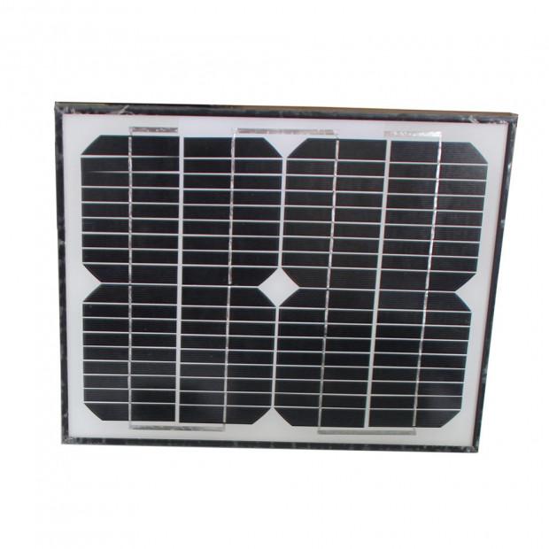 500kg 10w Solar Single Swing Auto Motor Remote Gate Opener Image 5