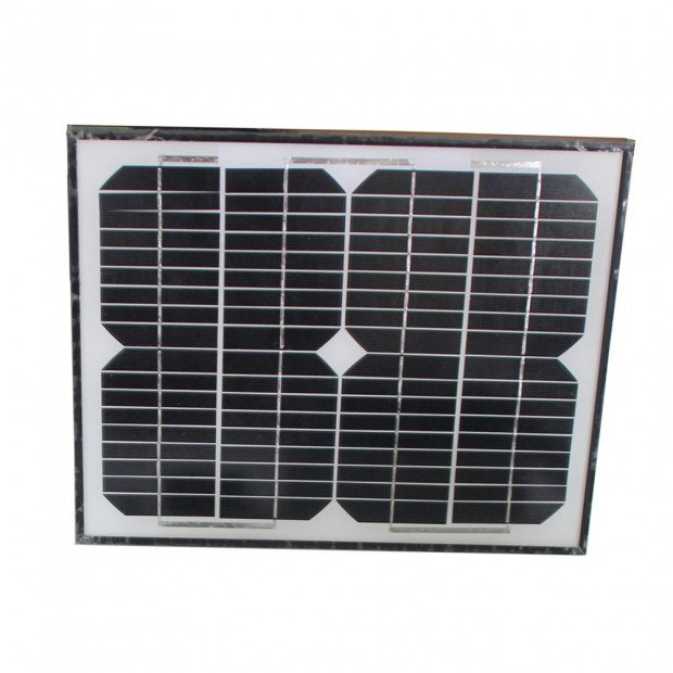 1200kg 10w Solar Double Swing Auto Motor Remote Gate Opener Image 6