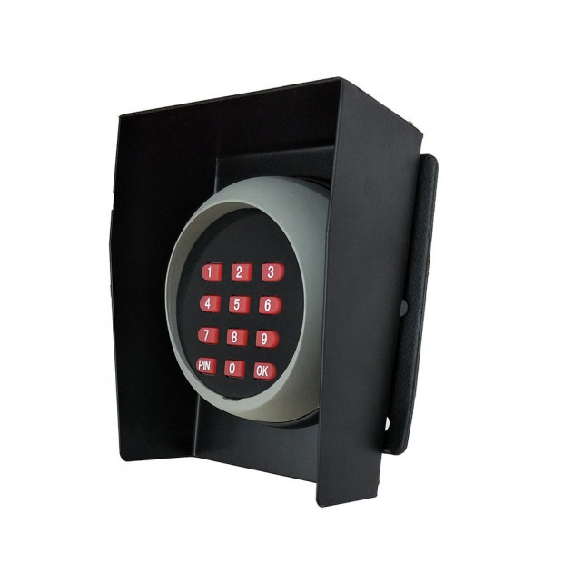 Wireless Keypad Entry For Swing And Sliding Gate With Metal Casing Image 1