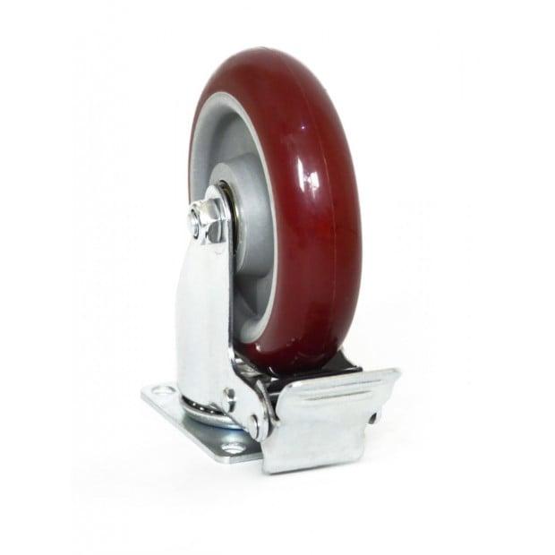 4 X 5 Inch Heavy Duty 400kg Swivel Castor Wheels Furniture Caster Image 1