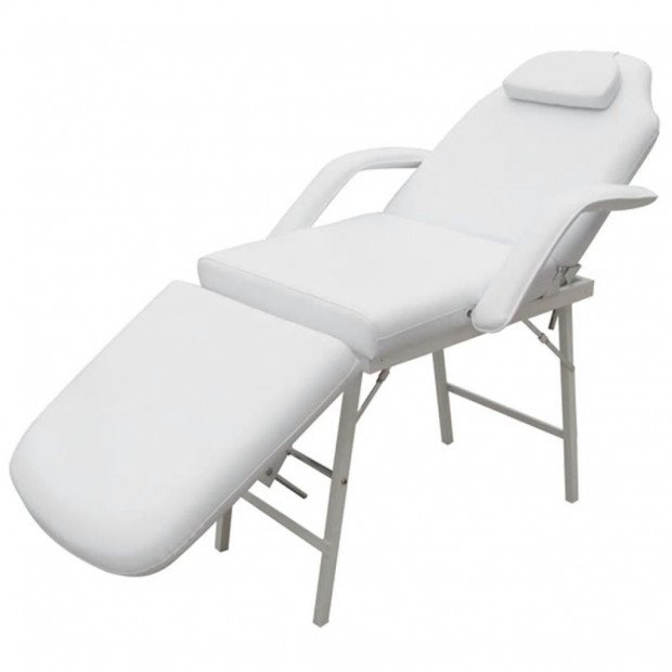 Treatment Chair Adjustable Back- And Footrest White