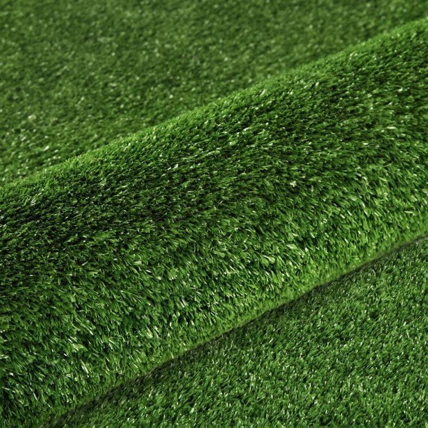 20 SQM Artificial Grass Synthetic Artificial Turf Flooring 15mm Olive