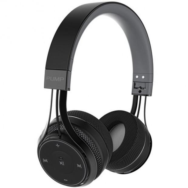BlueAnt Pump Soul On Ear Wireless Bluetooth Headphones - Black