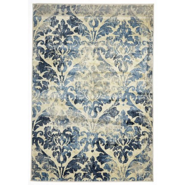 Gloria Stunning Rectangular Floor Rug Bone