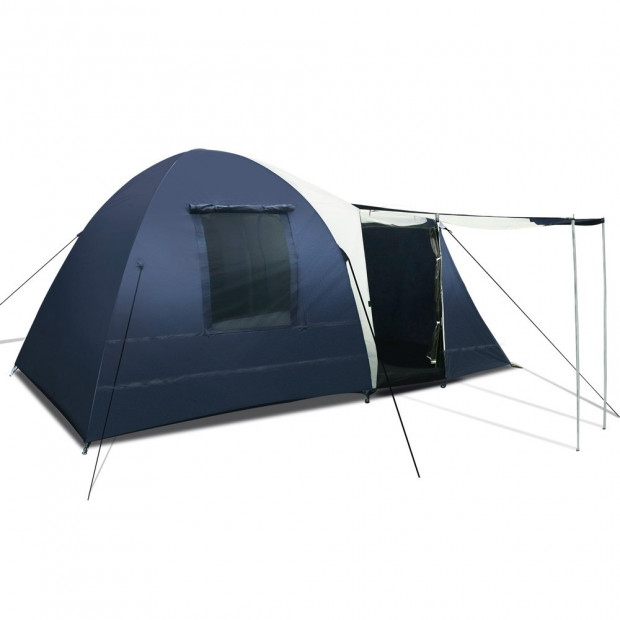 8 Person Camping Dome Tent - Blue