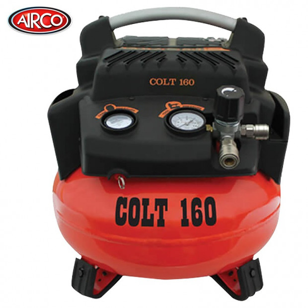 Airco Colt Air Compressor 24 Litre Tank (1.5HP-160 L/Mi