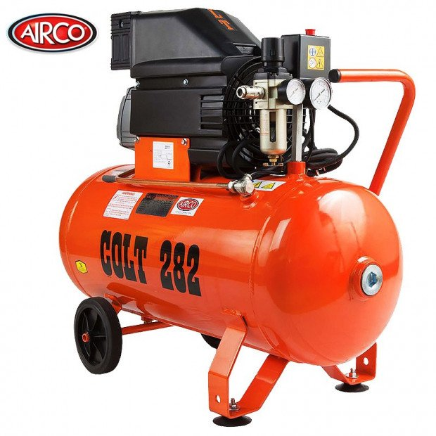 Airco COLT Air Compressor 50 Litre Tank - 2.5HP - 235 L/Min