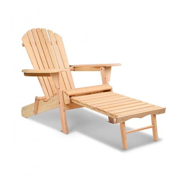 Adirondack Chair Set - Natural