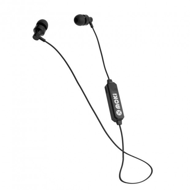 Moki Exo Bluetooth Earbuds - Black