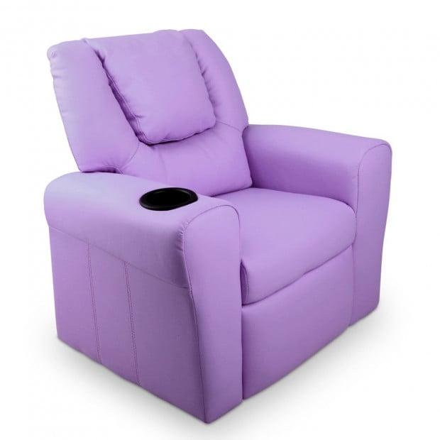Kids Recliner - Purple
