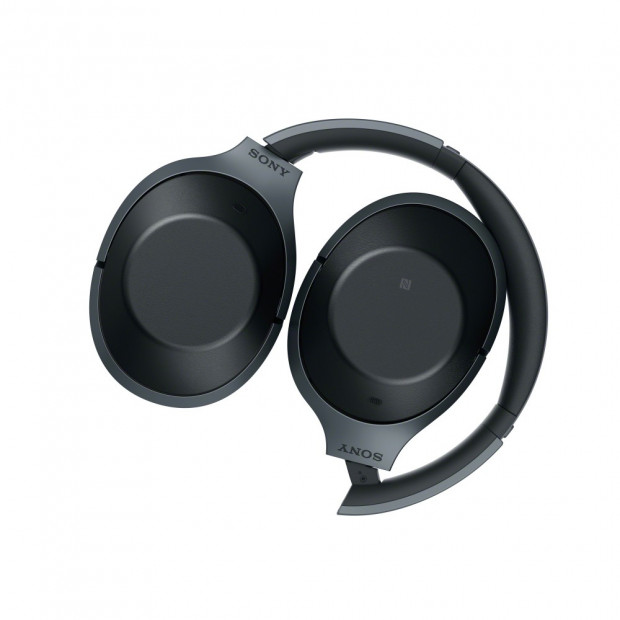 Sony 1000X Noise Cancelling Bluetooth Headphones - Black Image 2
