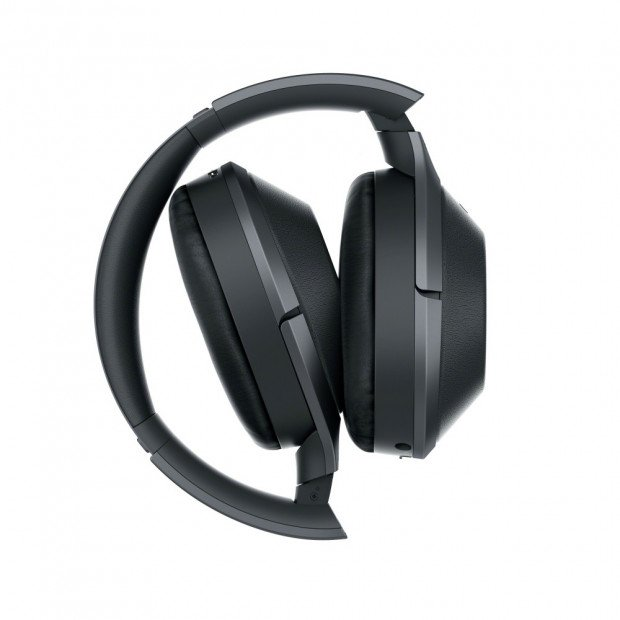 Sony 1000X Noise Cancelling Bluetooth Headphones - Black Image 3