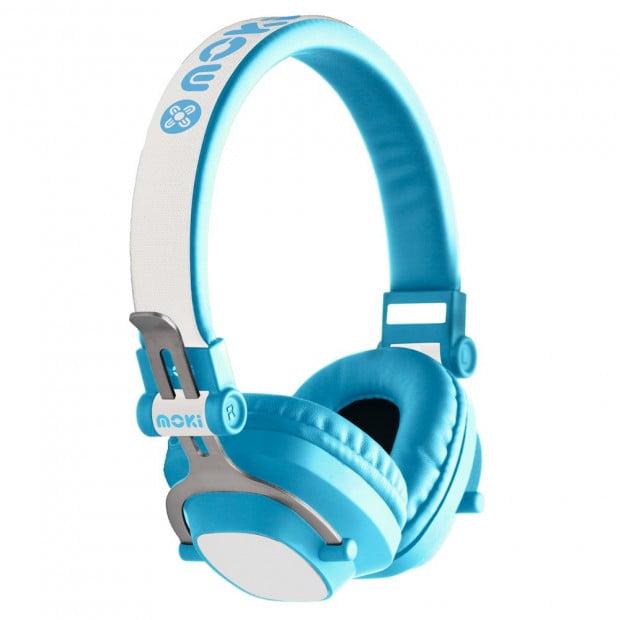 Moki Exo Kids Bluetooth Headphone - Blue