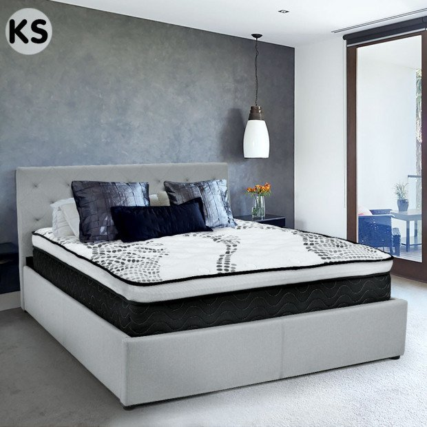 Laura Hill Premium King Single Mattress with Euro Top Layer - 32cm