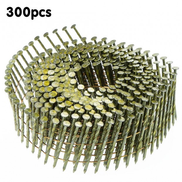 15 degres Wire Collated Nails Roll Coil for 25-55mm Coil Air Nailer Gun Image 1