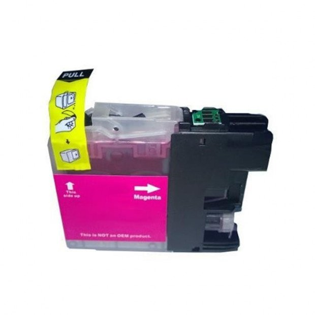 Suit Brother. LC133 Magenta Compatible Inkjet Cartridge