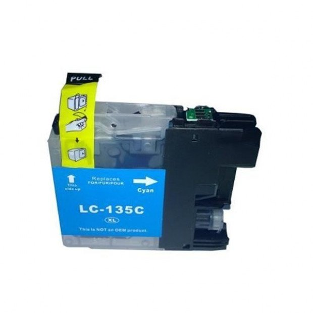 Suit Brother. LC135XL Cyan Compatible Inkjet Cartridge