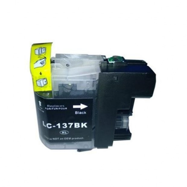 Suit Brother. LC137XL Black Compatible Inkjet Cartridge