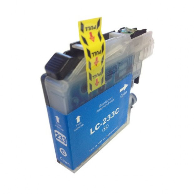 Suit Brother. LC-233 Cyan Compatible Inkjet Cartridge